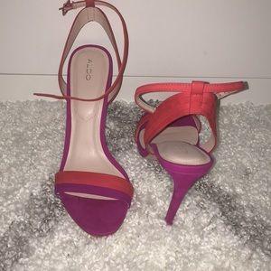 Gently worn Aldo sandals